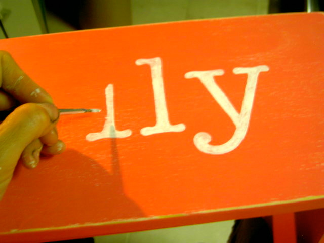 Wood Sign Painting Tutorial