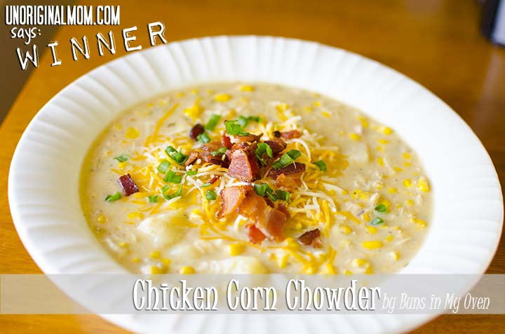 Chicken Corn Chowder Review by unOriginalMom