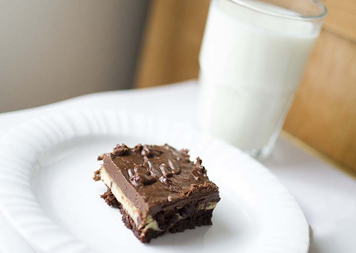 Marble Brownies with fudgey frosting from unOriginalMom.com