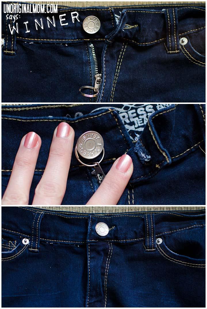 How to hold up a broken zipper