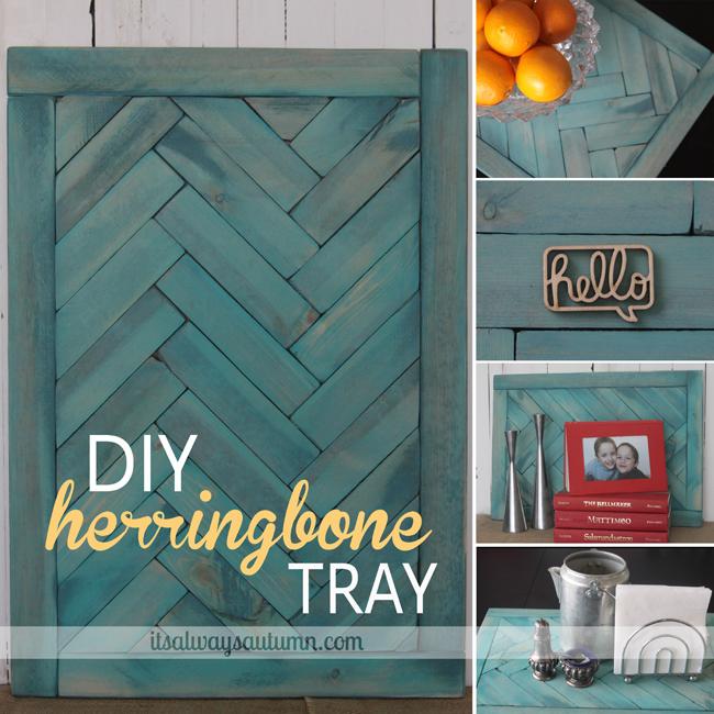 Herringbone Tray from It's Always Autumn