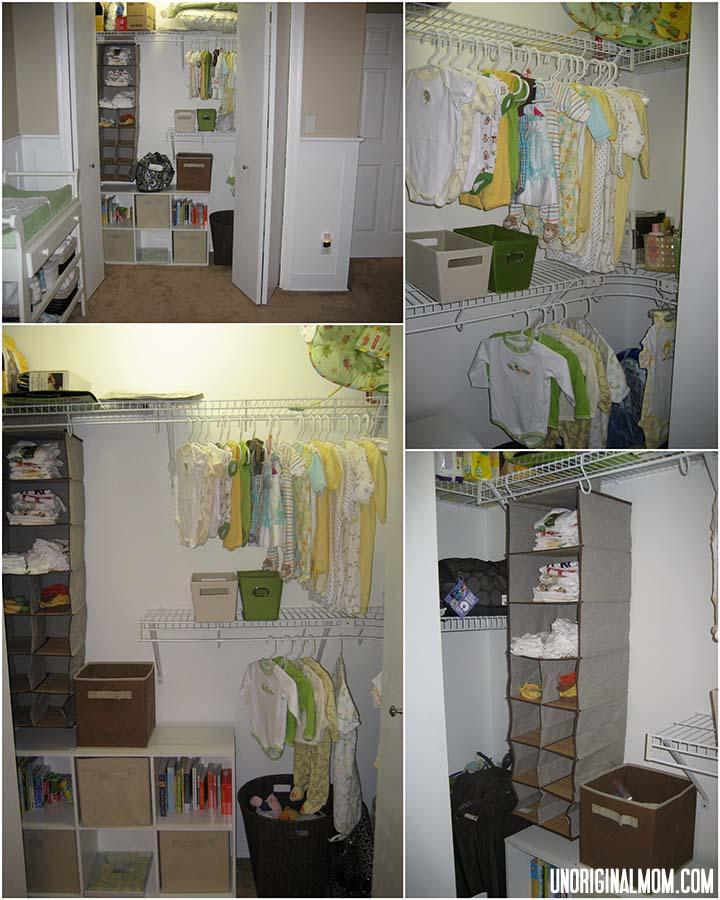 Gender Neutral Nursery Tour & Checklist: Baby Closet Organization | unOriginalMom.com