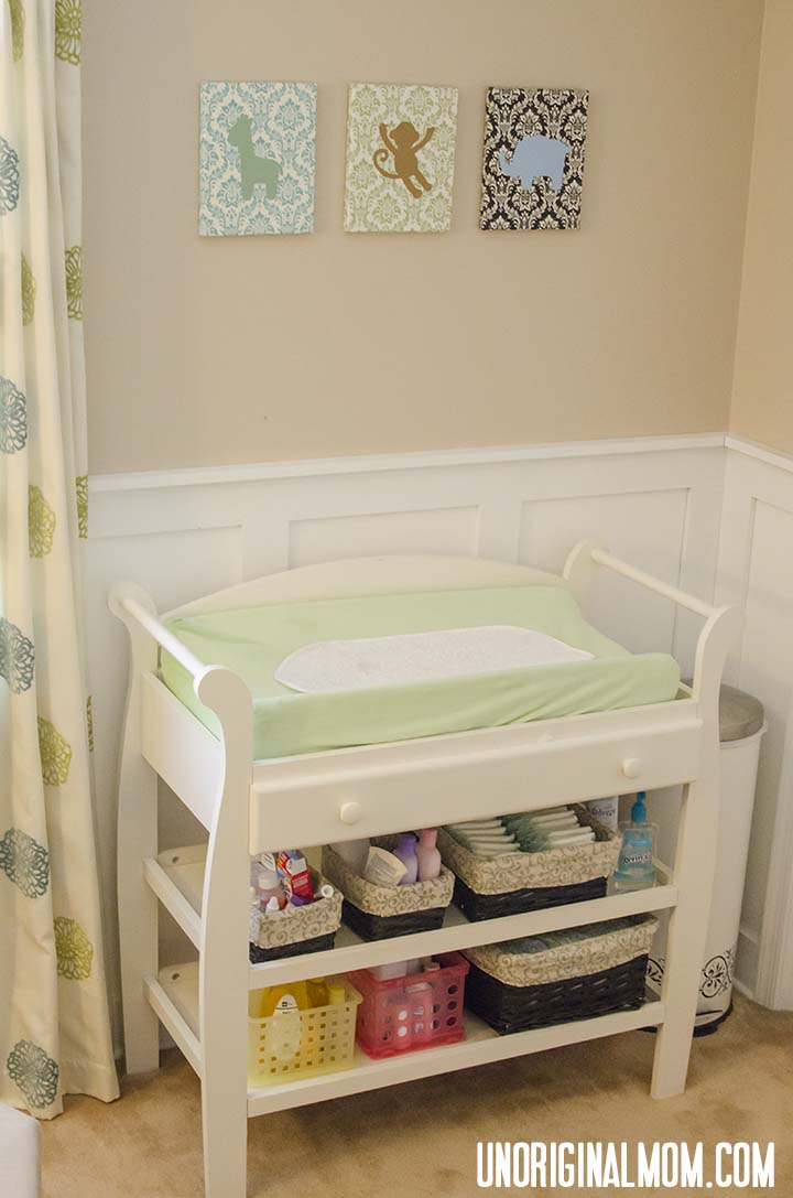 Gender Neutral Nursery Tour & Checklist | unOriginalMom.com