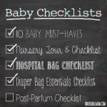 Baby Checklist: Diaper Bag Essentials