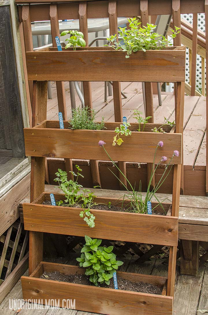 DIY Window Box Herb Garden | unOriginalMom.com