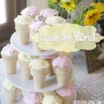 Cupcake Cone Tutorial