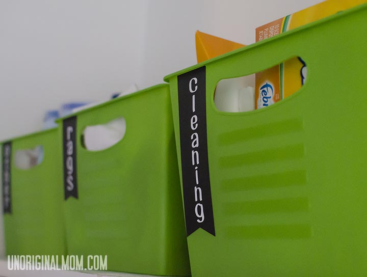 Laundry Room Labels   unOriginalMom.com