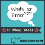15 Dinner Ideas