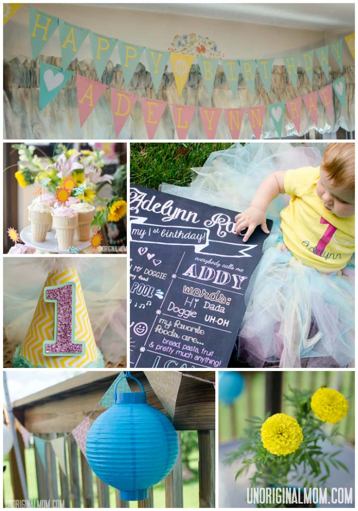 You Are My Sunshine First Birthday Party  |  unOriginalMom.com