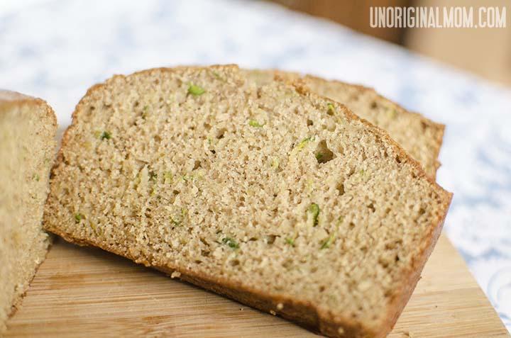 Easy Zucchini Bread Recipe     unOriginalMom.com
