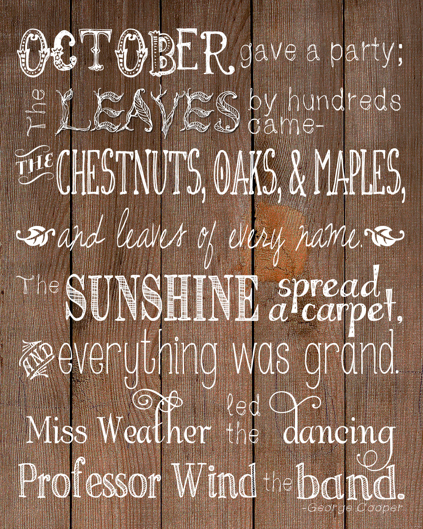october u0026 39 s party free printable