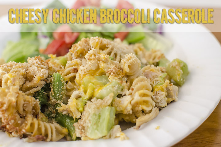 Cheesy Chicken Broccoli Casserole with Country Crock  | unOriginalMom.com #quickfixcasseroles #sponsored