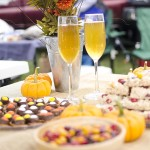 Fall Tailgating Party with M&M's and Mott's Apple Juice!
