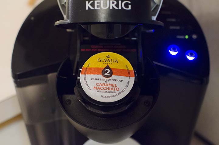 "Gevalia Cafe-Style K-Cups with Chocolate ""Latte Art"" #shop #CupofKaffe #cbias"