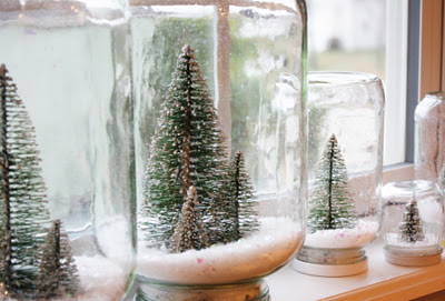 Original Friday Feature - waterless snow globes from Sweet Something Designs