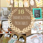 16 Thanksgiving Printables
