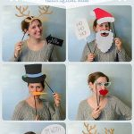 Christmas Photo Booth Props with Free Cut File
