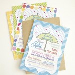 Baby Shower Invitations with your Silhouette