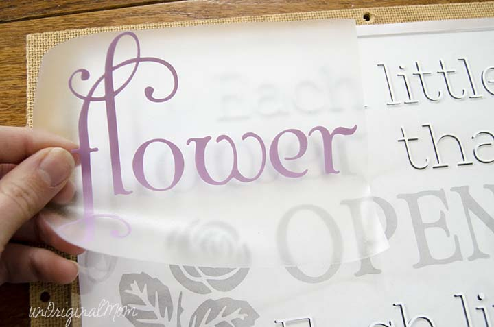 """""""All Things Bright and Beautiful"""" text for spring with a free cut file!  Plus a $25 Expressions Vinyl GC Giveaway!"""