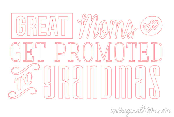 great moms get promoted to grandmas mother 39 s day gift