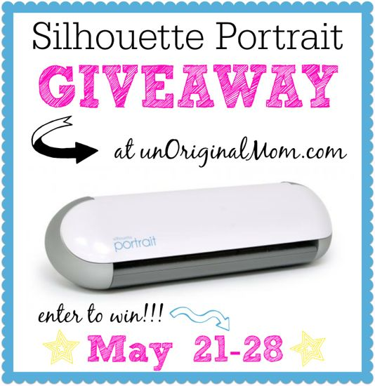 Win a Silhouette Portrait at unOriginalMom.com!