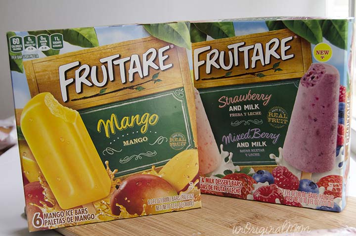 "Fruttare Fruit Bars - the perfect ""everyday"" treat for moms and kids alike!"