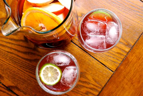 15 Summer Mocktails - Virgin Sangria