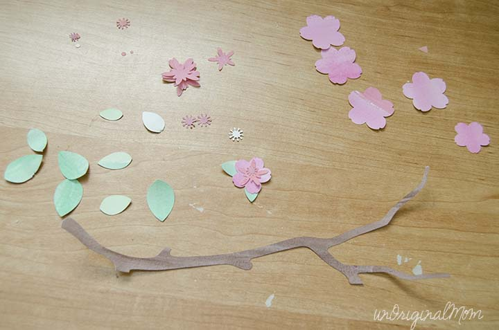 Use Your Silhouette To Cut Out Shapes From Painted Watercolor Paper   Such  Neat Color And