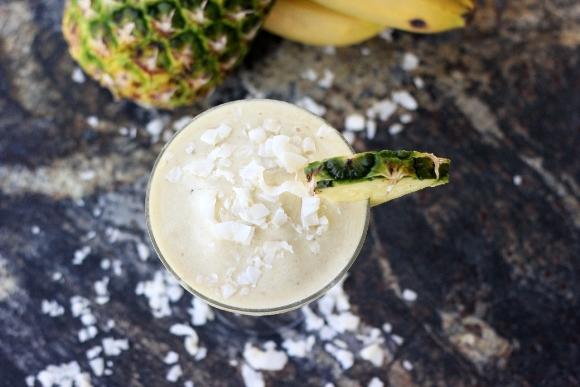 15 Summer Mocktails - Banana Pina Colada