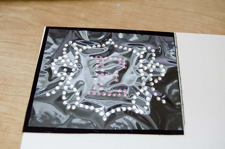 Step-by-step tutorial to create your own rhinestone template with Silhouette Designer Edition!