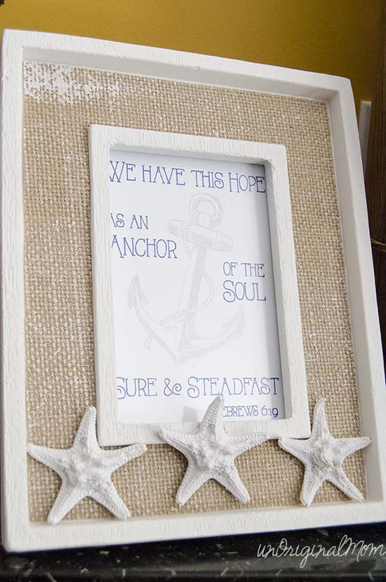 We have this hope as an anchor of the soul - scripture art with silhouette sketch pens.