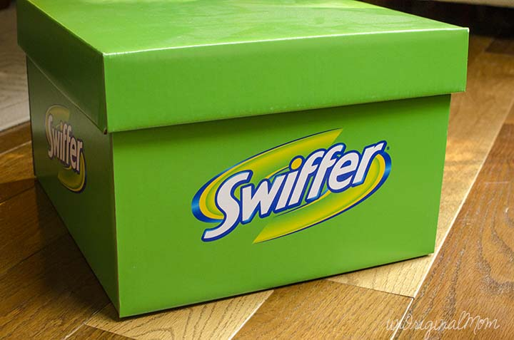 The #SwifferEffect - how easy daily cleaning can change not only your house, but your whole attitude! #BigGreenBox