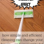 Spark the Swiffer Effect: Cleaning made easy!