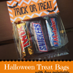 Halloween Treat Bags with Free Printable {Guest Post}