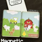 Magnetic Farm Toddler Activity