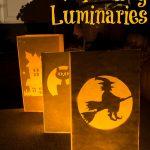 Halloween Paper Bag Luminaries