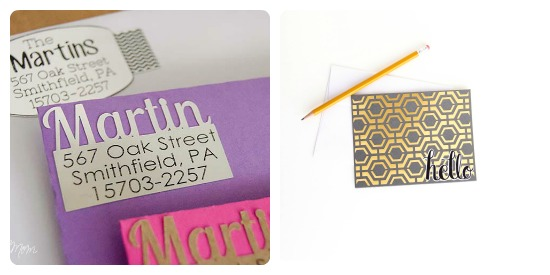 Gold and Silver Foil projects