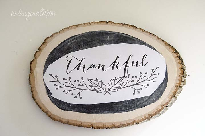 "How to hand letter chalkboard by ""tracing"" a printable - gives you an authentic, hand-drawn look!"
