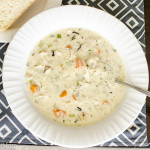 Easy Chicken and Wild Rice Soup