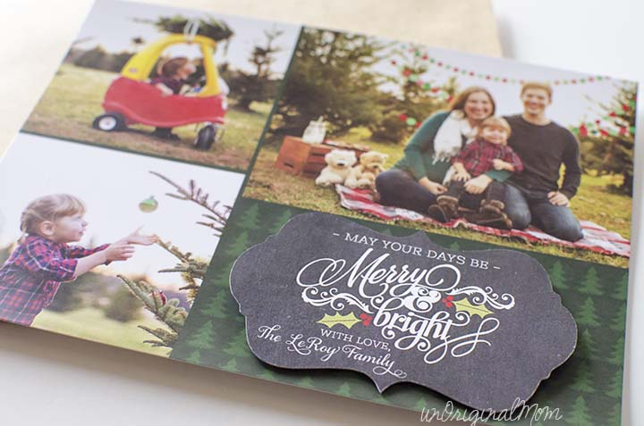Use your Silhouette to create simple and fun Christmas cards