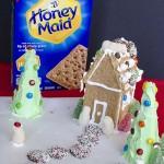 Graham Cracker Houses and Reindeer Peanut Butter Balls