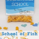 Goldfish Cracker Valentine with Free Printable {Guest Post}