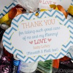 Labor and Delivery Nurse Thank You Bags
