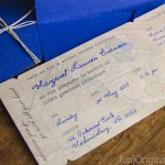 DIY Boarding Pass Bridal Shower Invitations