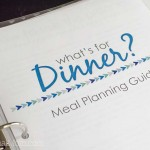 Free Printable Flexible Meal Planning Guide