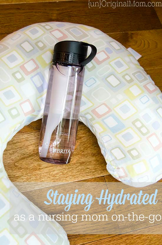 Tips on staying hydrated while breastfeeding