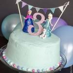 Easy Frozen Birthday Cake