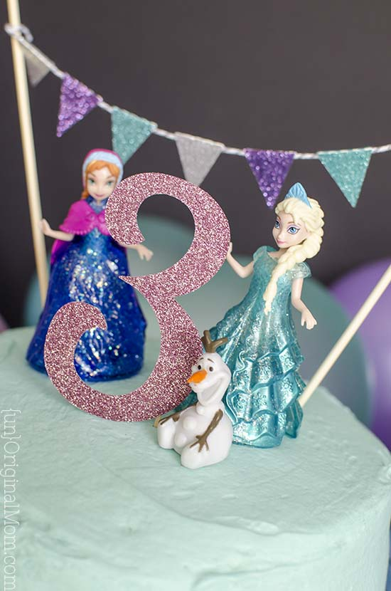 Easy Frozen Birthday Cake