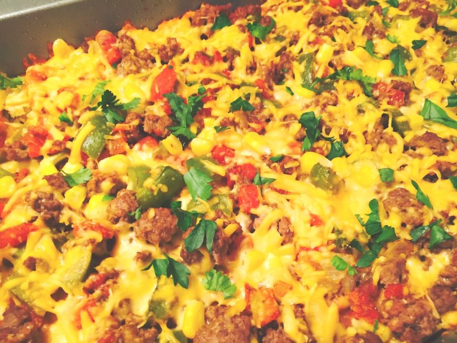Mexican Lasagna from Confessions of a Fit Foodie