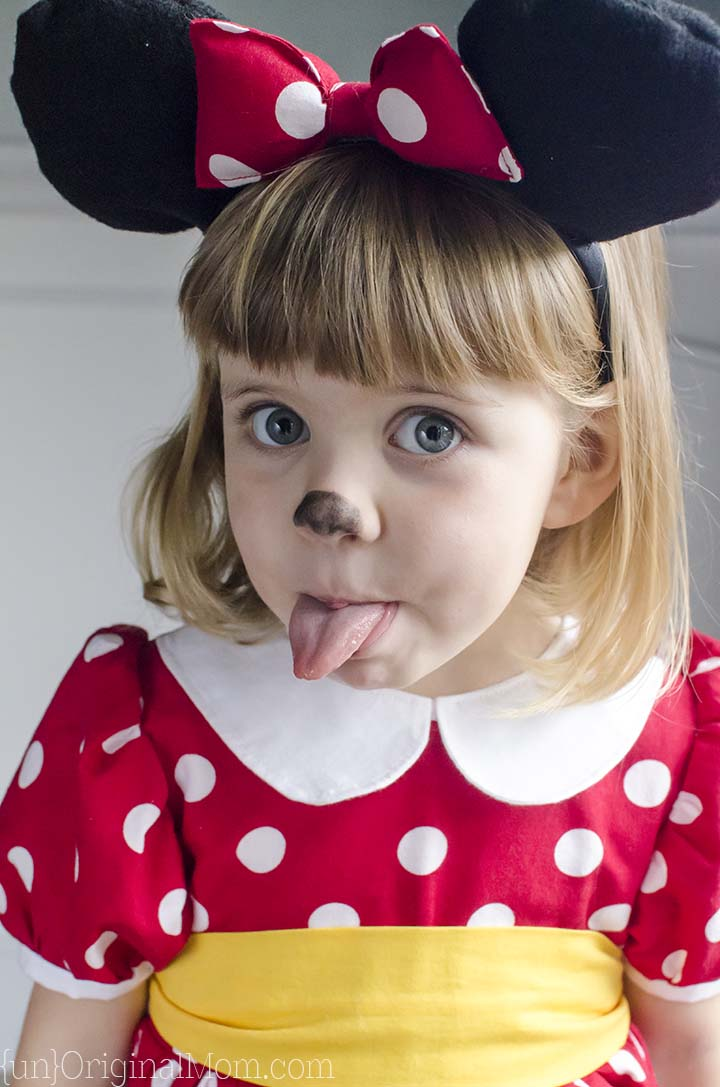 The Perfect Diy Minnie Mouse Costume Unoriginal Mom